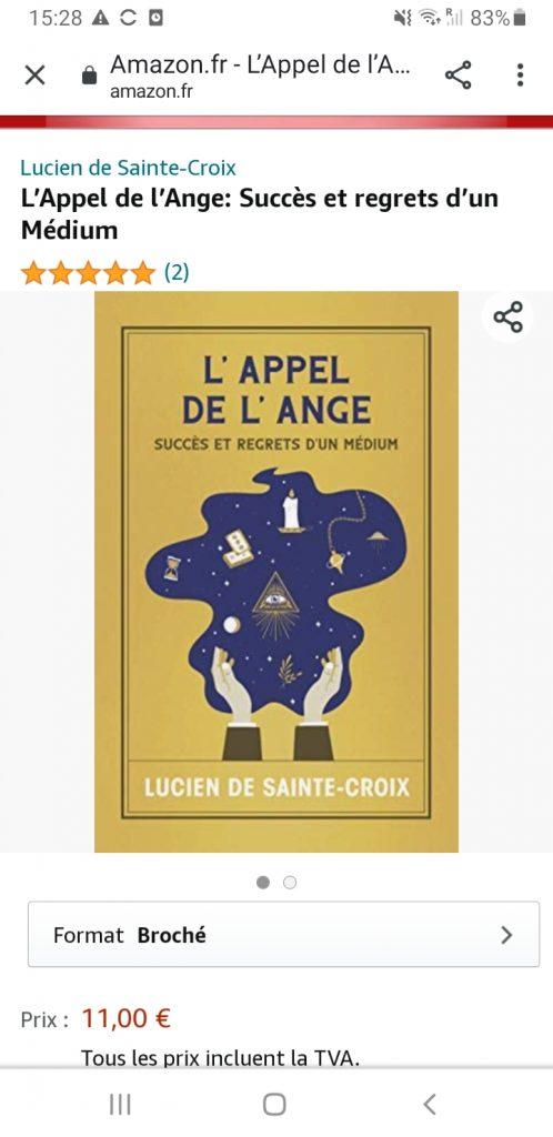 L'appel de l'Ange (Lucien de Sainte-Croix)